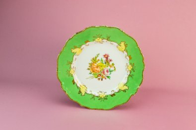 apple green plate